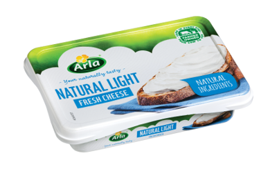 Arla Cream Cheese - Natural Light