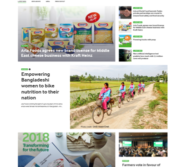 Arla - your global dairy company - Let in the goodness | Arla