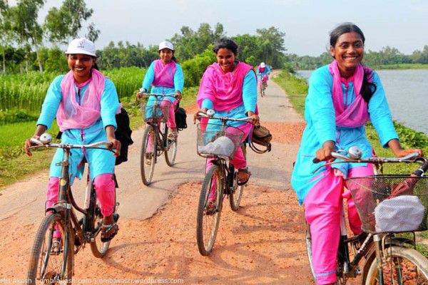 ​Empowering Bangladeshi women to bike nutrition to their nation