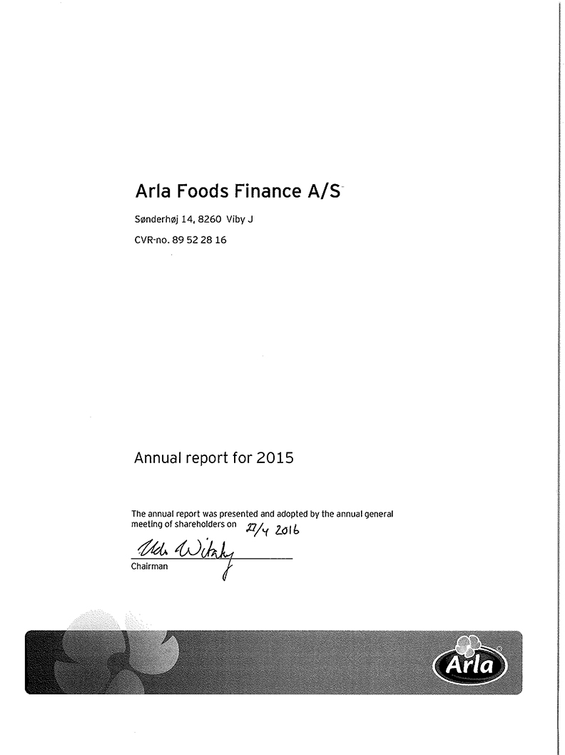 arla foods annual report Conagra brands is focused on capturing growth to drive shareholder value find our current and archived annual reports.