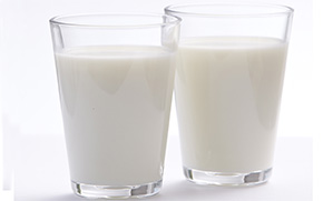 Two glasses of milk